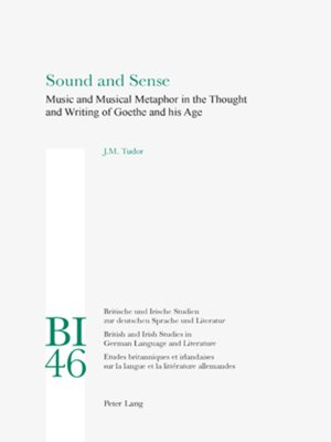 cover image of Sound and Sense