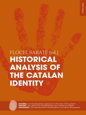 cover image of Historical Analysis of the Catalan Identity
