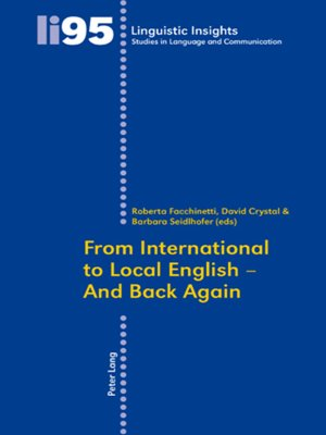 cover image of From International to Local English  and Back Again