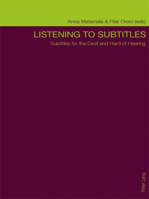 cover image of Listening to Subtitles