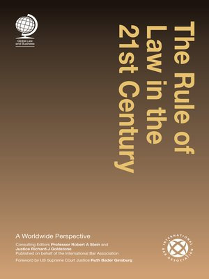 cover image of The Rule of law in the 21st Century