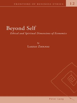 cover image of Beyond Self