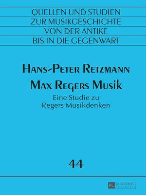 cover image of Max Regers Musik