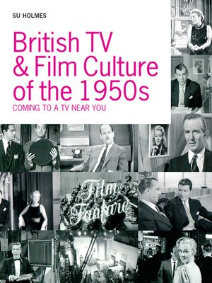cover image of British TV & Film Culture in the 1950s