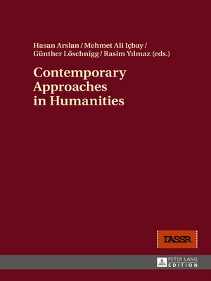 cover image of Contemporary Approaches in Humanities