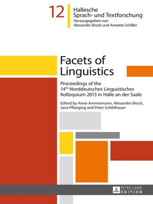 cover image of Facets of Linguistics