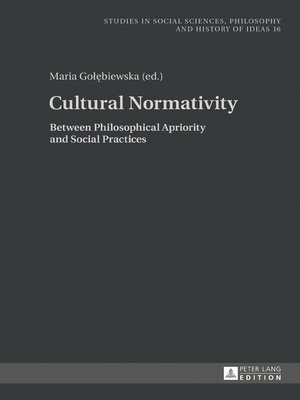cover image of Cultural Normativity