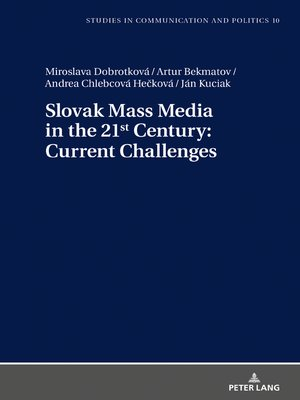 cover image of Slovak Mass Media in the 21st Century