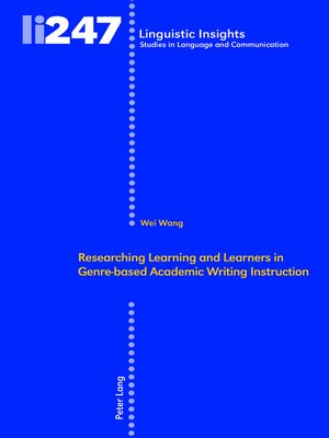cover image of Researching Learning and Learners in Genre-based Academic Writing Instruction