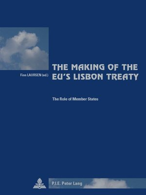 cover image of The Making of the EUs Lisbon Treaty