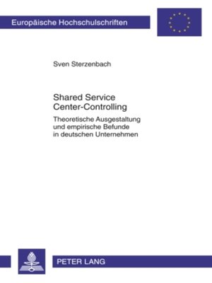 cover image of Shared Service Center-Controlling