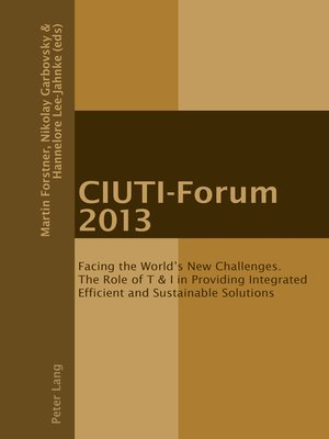 cover image of CIUTI-Forum 2013