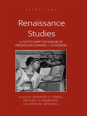 cover image of Renaissance Studies