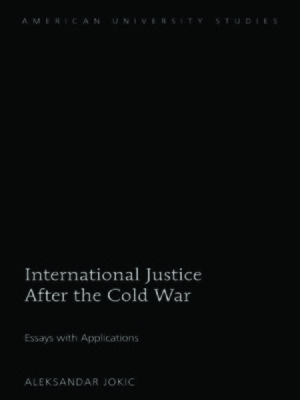 cover image of International Justice After the Cold War