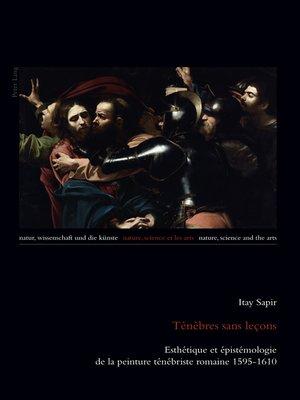 cover image of Ténèbres sans leçons