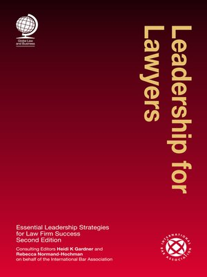 cover image of Leadership for Lawyers