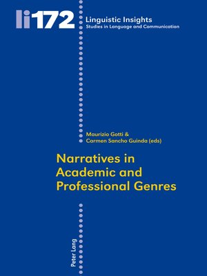 cover image of Narratives in Academic and Professional Genres
