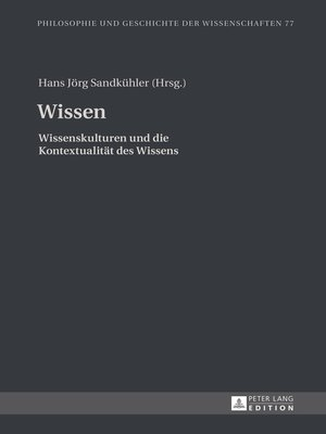 cover image of Wissen