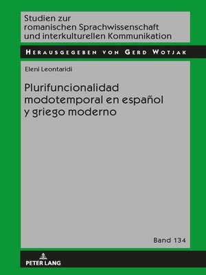 cover image of Plurifuncionalidad modotemporal en español y griego moderno