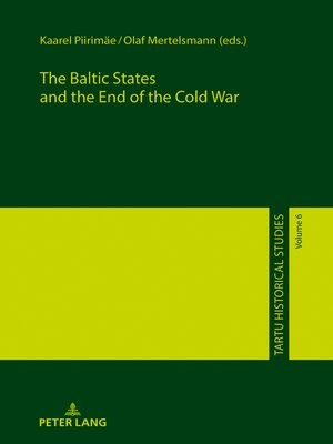 cover image of The Baltic States and the End of the Cold War
