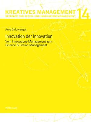 cover image of Innovation der Innovation