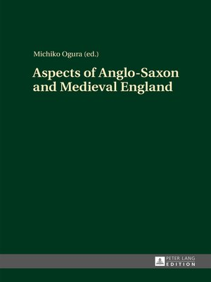 cover image of Aspects of Anglo-Saxon and Medieval England