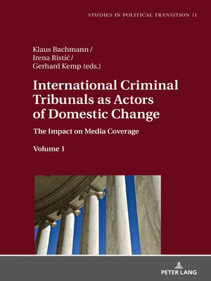 cover image of International Criminal Tribunals as Actors of Domestic Change