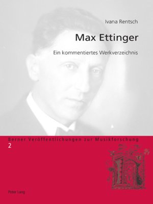 cover image of Max Ettinger
