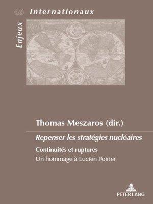 cover image of Repenser les stratégies nucléaires