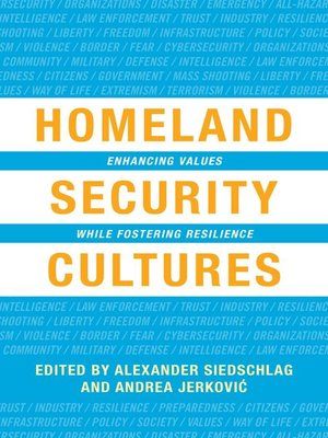 cover image of Homeland Security Cultures