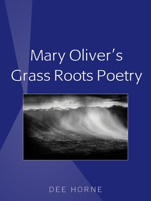 cover image of Mary Olivers Grass Roots Poetry