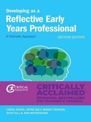 cover image of Developing as a Reflective Early Years Professional