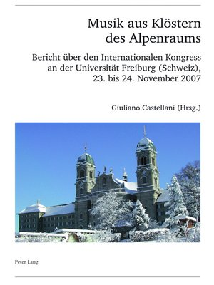 cover image of Musik aus Kloestern des Alpenraums