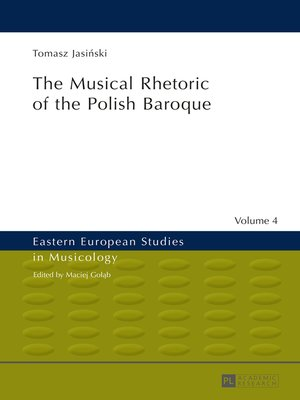 cover image of The Musical Rhetoric of the Polish Baroque