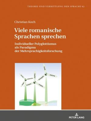 cover image of Viele romanische Sprachen sprechen