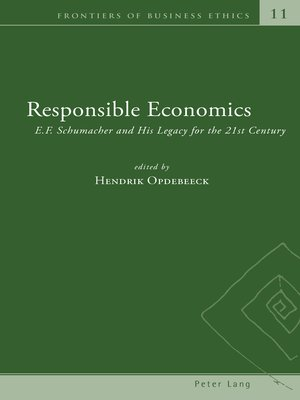 cover image of Responsible Economics