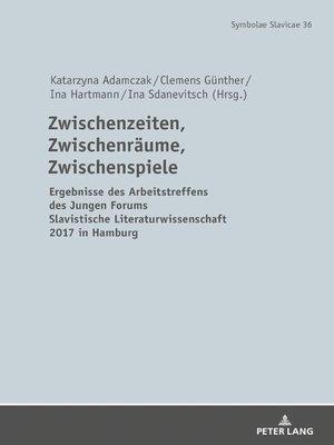 cover image of Zwischenzeiten, Zwischenraeume, Zwischenspiele