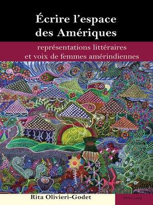 cover image of Écrire lespace des Amériques