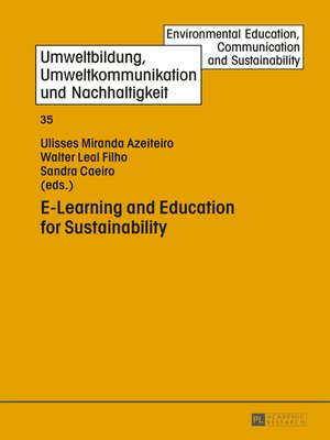 cover image of E-Learning and Education for Sustainability