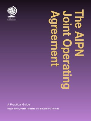 cover image of The AIPN Joint Operating Agreement