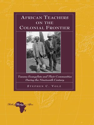 cover image of African Teachers on the Colonial Frontier