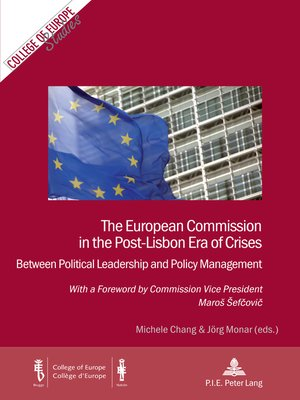 cover image of The European Commission in the Post-Lisbon Era of Crises
