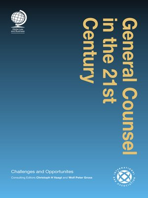cover image of General Counsel in the 21st Century