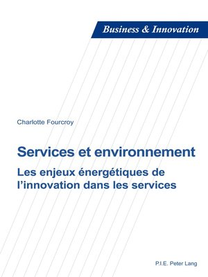 cover image of Services et environnement