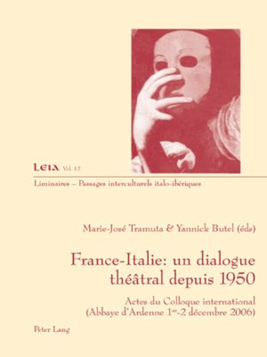 cover image of France-Italie
