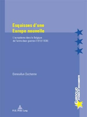 cover image of Esquisses dune Europe nouvelle