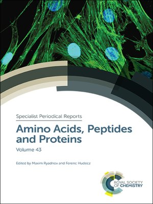 cover image of Amino Acids, Peptides and Proteins