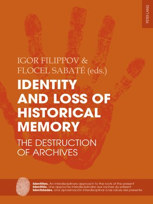 cover image of Identity and Loss of Historical Memory