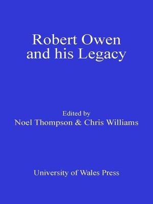 cover image of Robert Owen and his Legacy