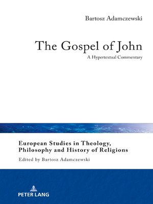 cover image of The Gospel of John